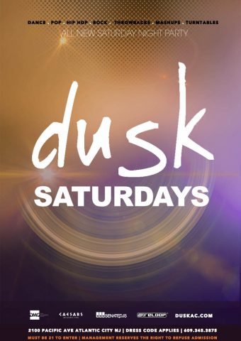 dusk-atlantic city - dj am i dance floor - lighting - senatecdjs